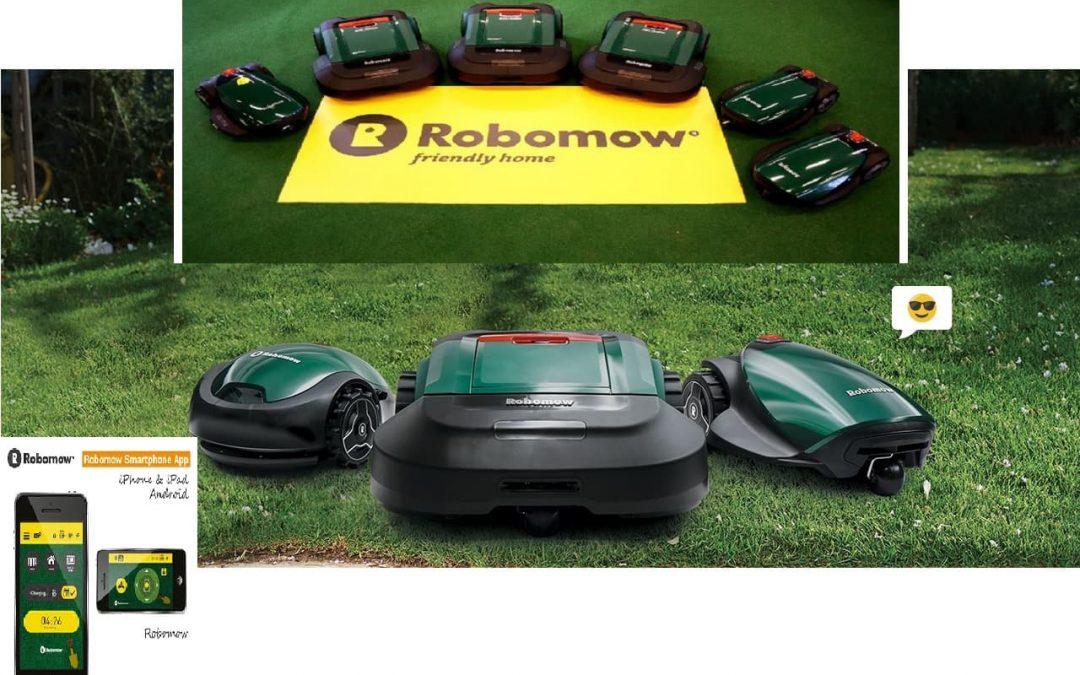 Robots cortacésped Robomow